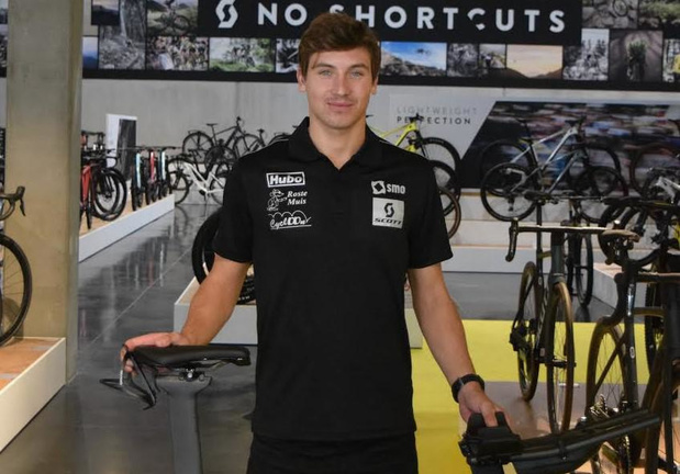 Triatleet Jasper Sabbe naar het SMO-SCOTT Triatlon Team