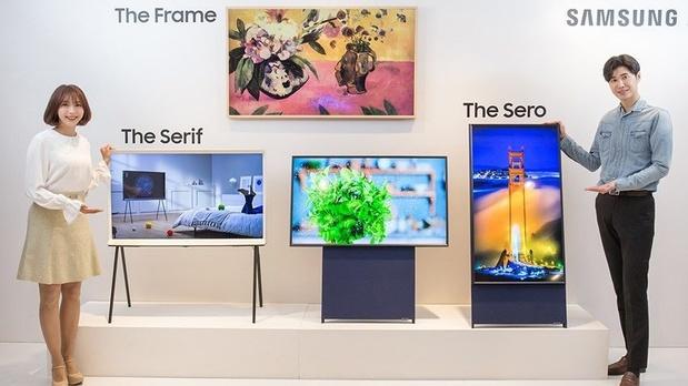 Samsung lance une TV verticale