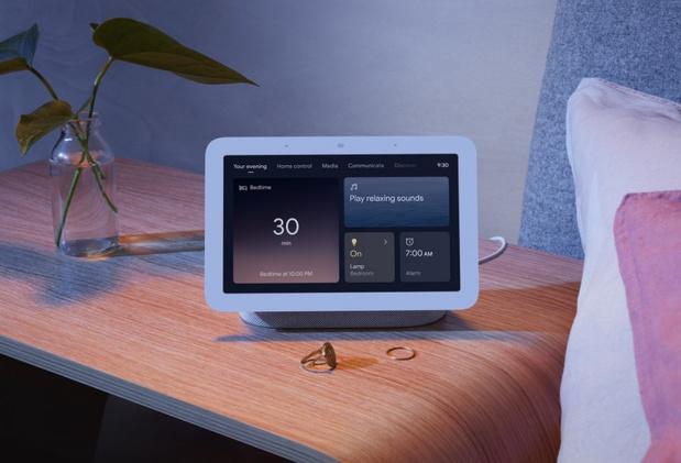 Le nouveau Google Nest Hub disponible le 4 mai chez nous analysera votre sommeil