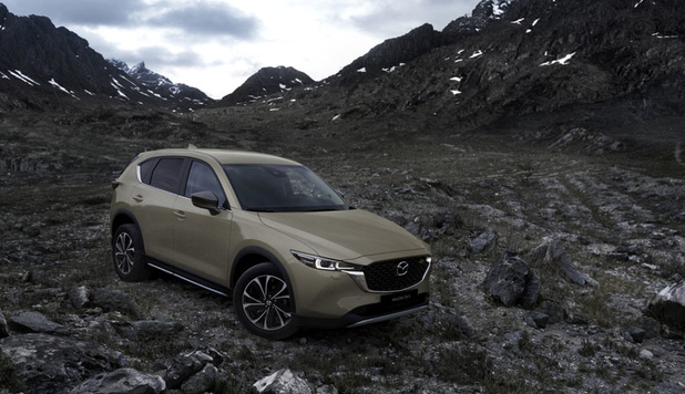 Mazda remet sur le métier son CX-5