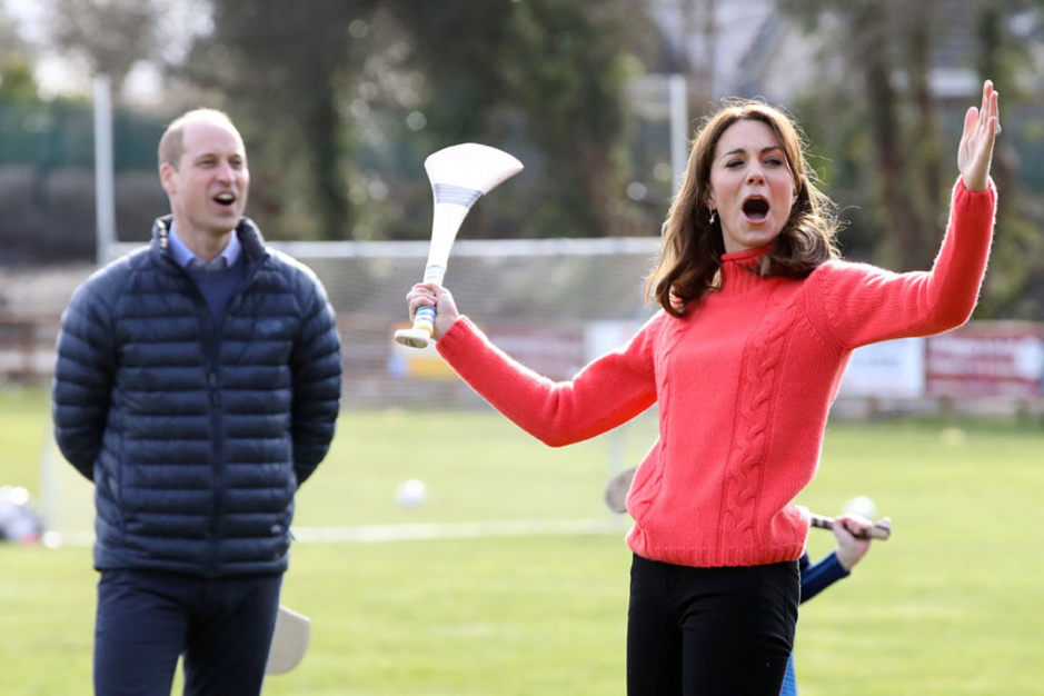 William et Kate en Irlande (en images)
