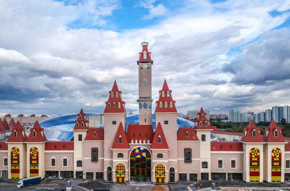 Island of Dreams, gigantesque parc d'attractions couvert à Moscou (en images)