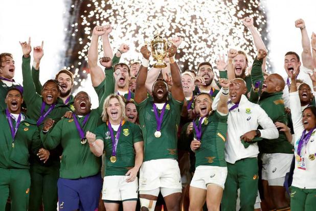Van Zuid-Afrika op het WK rugby tot Spanje in de Daviscup tennis: dit was november 2019 in de sport