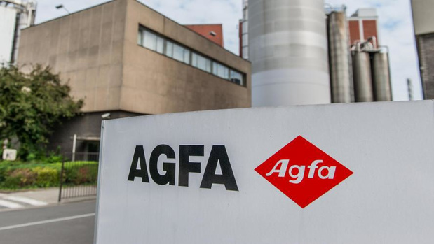 Agfa duikt in eerste kwartaal in het rood