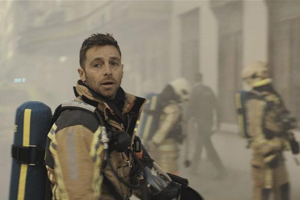 Tv-tip: Louis Talpe kroop zelf in een brandend gebouw tijdens de opnames van 'Onder Vuur'
