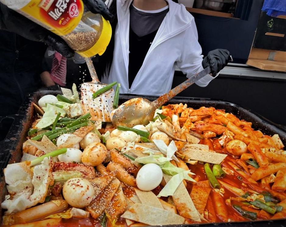 In beeld: Koreaanse streetfood op de Korean Culture Days in Brussel