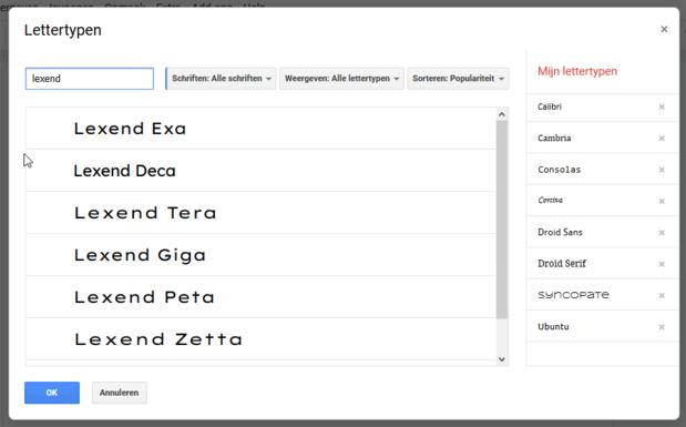 Google Docs krijgt lettertype dat je sneller laat lezen