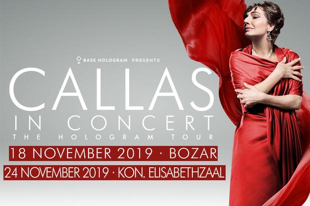 Maak kans op een duoticket voor Callas in Concert