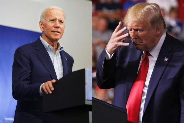 Biden aanzienlijke voorsprong op Trump in peilingen