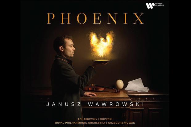 CD: 'Phoenix' van Janusz Wawrowski