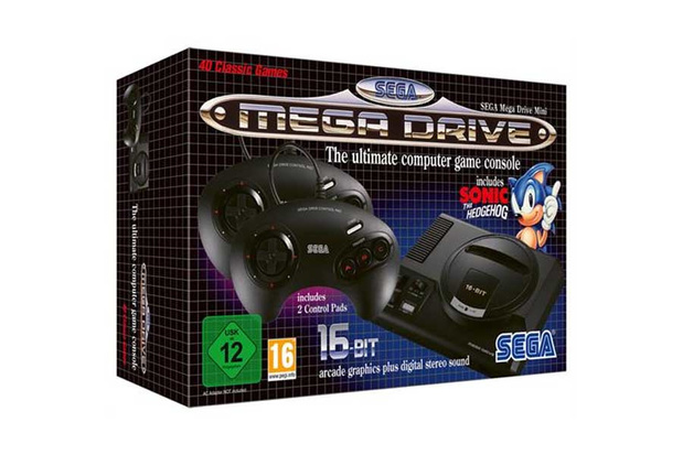 Sega Mega Drive mini twee weken uitgesteld