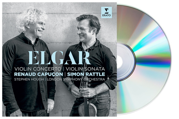 CD : Elgars Vioolconcerto/Vioolsonata door Renaud Capuçon en het London Symphony Orchestra