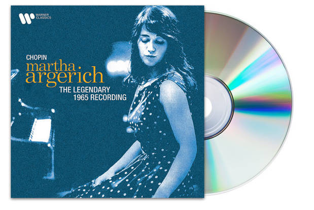CD : Chopin-The legendary 1965 festival van Martha Argerich