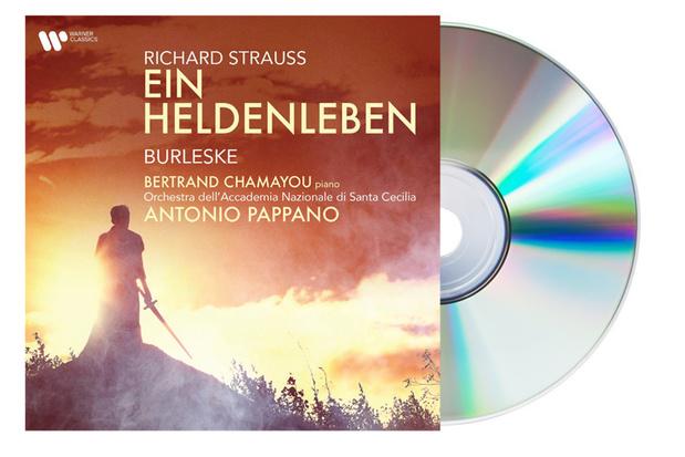 CD : Strauss: Ein Heldenleben. Burleske van Bertrand Chamayou en Antonio Pappano