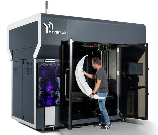 Massivit 3D lanceert nieuw industrieel 3D-printsysteem