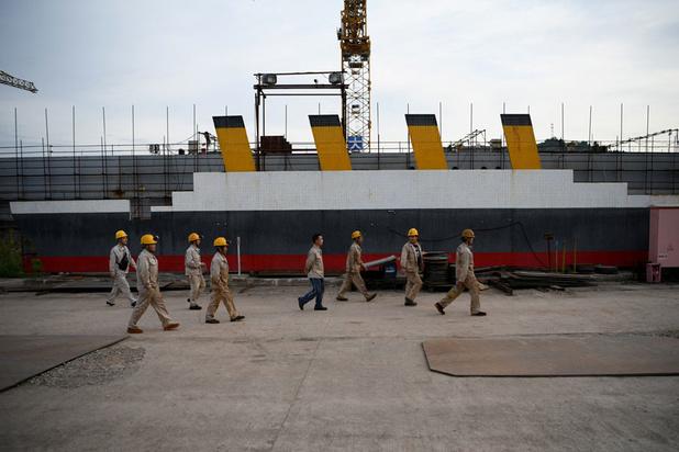 Le Titanic refait surface en Chine au sein du parc Titanicland (en images)