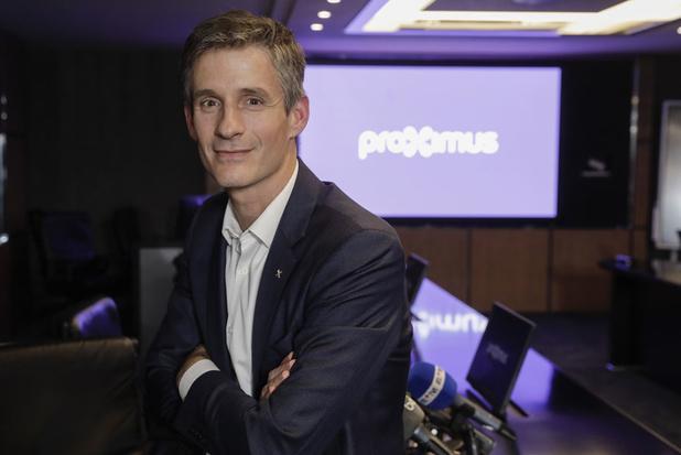 Guillaume Boutin (CEO Proximus): 'Ja, we kunnen ook nog dividend betalen' (video)