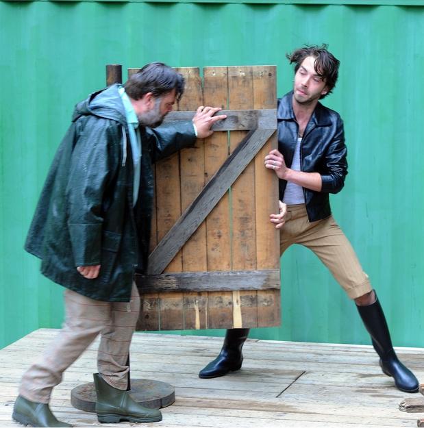 De Schone Compagnie en Compagnie Marius brengen op Theater Aan Zee een racende 'Rigoletto'
