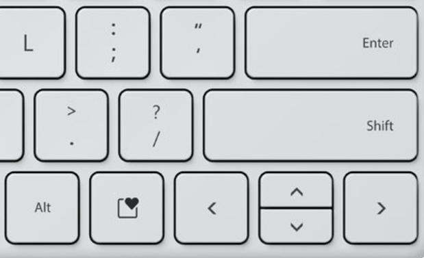 'Microsoft voegt nieuwe toets aan pc-klavier toe'
