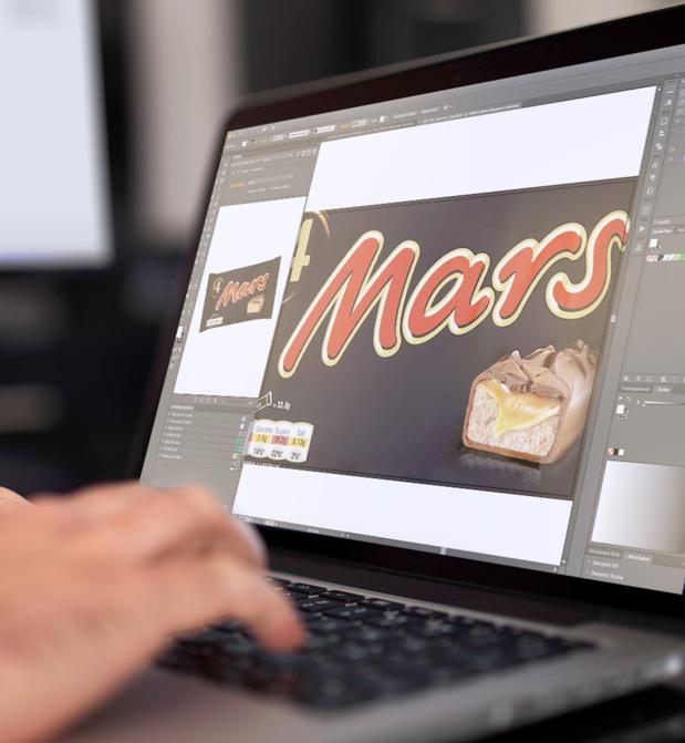 Mars stroomlijnt verpakkingsontwerp met WebCenter van Esko