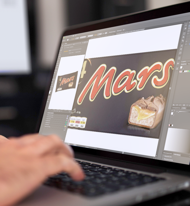 Mars rationalise la conception de ses emballages avec Esko WebCenter