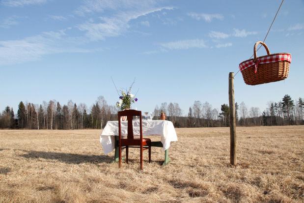 Bord för en, le micro-restaurant pour un seul client dans la campagne suédoise