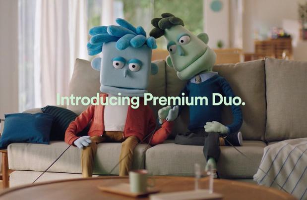Spotify lance un abonnement Duo pour les couples (vivant sous le même toit)