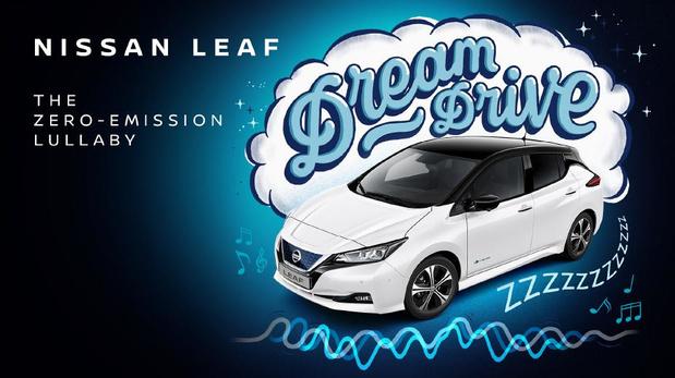 Nissan Leaf brengt slaapliedje