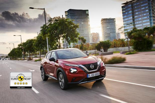 5 étoiles Euro-NCAP pour le nouveau Nissan Juke