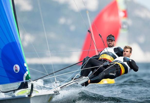 Oostendse zeiler Yannick Lefèbvre achtste op EK