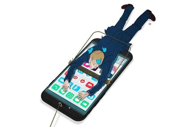 """Détox numérique: """"Traitez votre smartphone comme votre chien"""""""