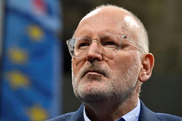 """Frans Timmermans : """"Le manque de solidarité migratoire a laissé de profondes cicatrices en Europe"""""""