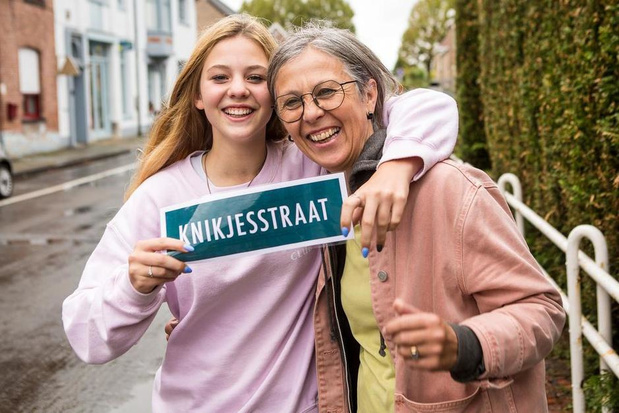 Brugse Zarra Neirynck erg tevreden na één jaar 'Knikjesstraat'