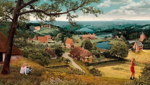 """""""Le Monde de Bruegel"""", un musée en plein air qui redonne vie à la peinture de l'artiste"""