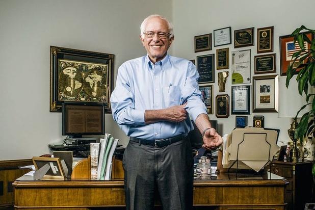 Bernie Sanders, le très à gauche millionnaire