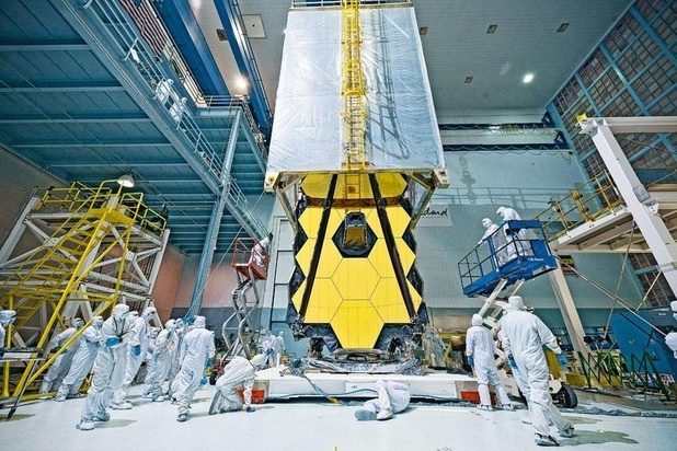 Le lancement du télescope spatial James Webb repoussé à octobre 2021