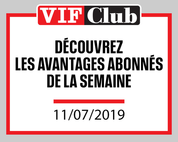 Découvrez les offres du Vif Club de cette semaine !