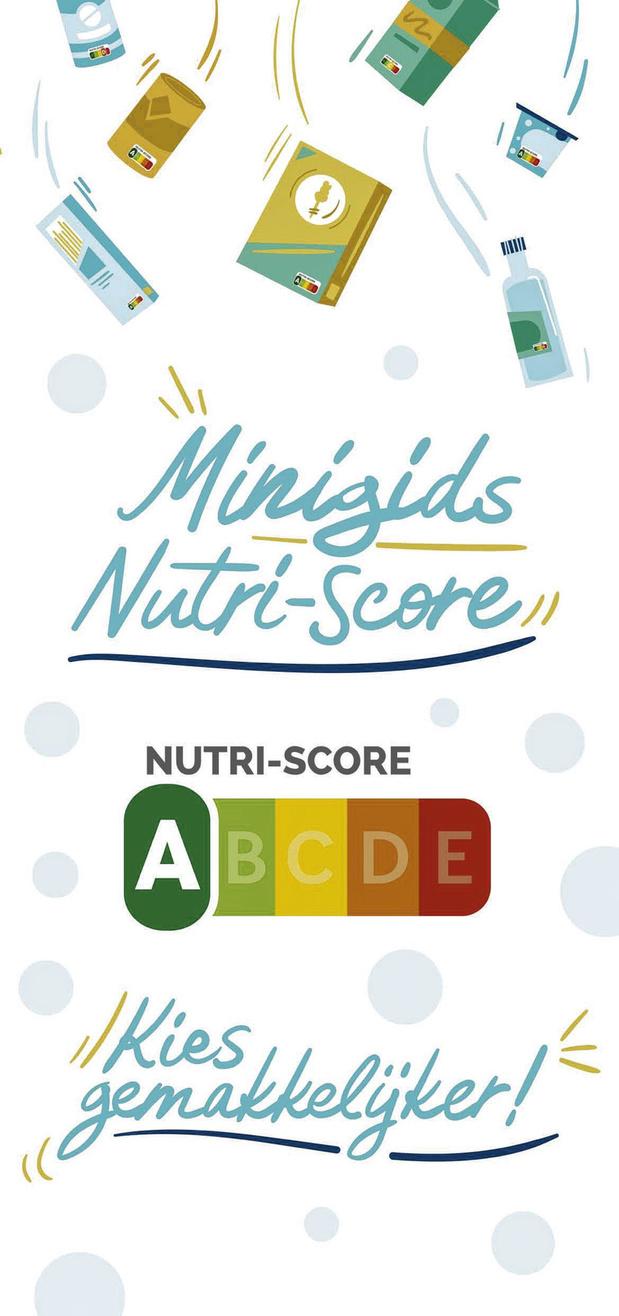 Nutri-Score, een logo als gids naar gezonde voeding