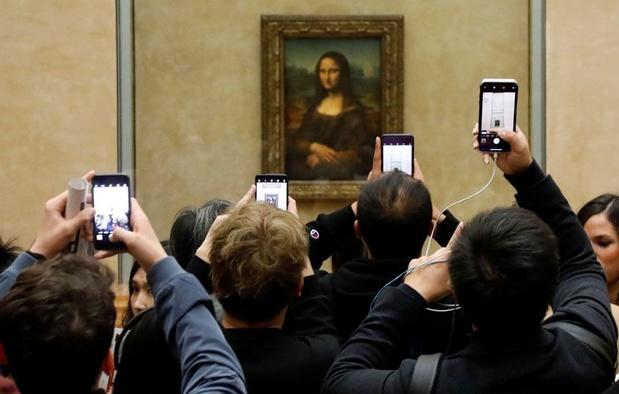 Fréquentation en baisse de 72% au Louvre par rapport à 2019