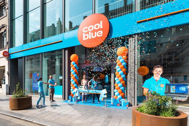 Le magasin en ligne Coolblue ouvre un point de vente sur l'avenue Louise à Bruxelles