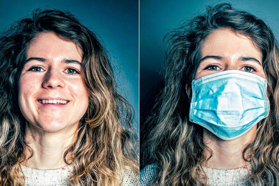 Lachen en liegen in de mondmaskersamenleving: zijn er écht geen blije mensen meer?