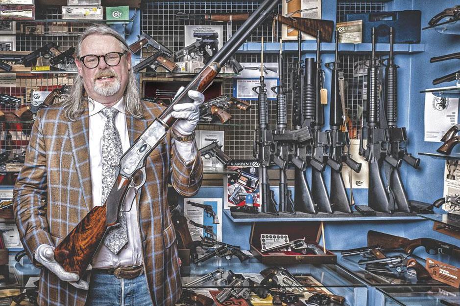 Wapenverzamelaars: 'Een zeldzame revolver is als een prachtig schilderij'