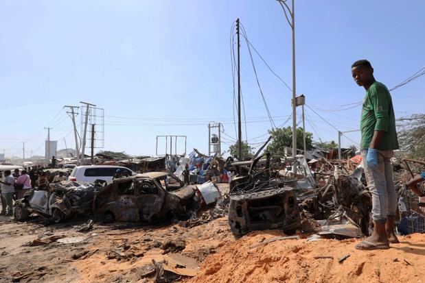 Al meer dan 100 doden bij bomaanslag in Mogadishu