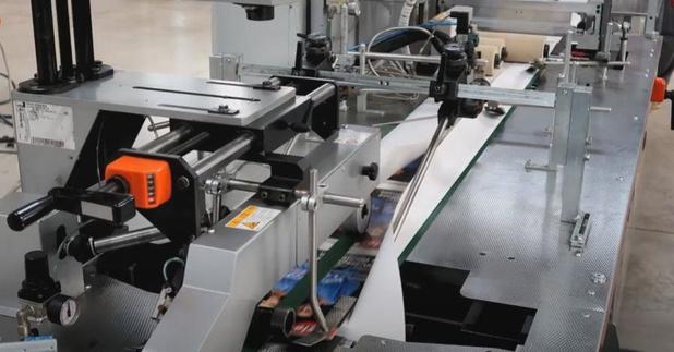 Roularta Printing investeert in papierwikkelinstallatie