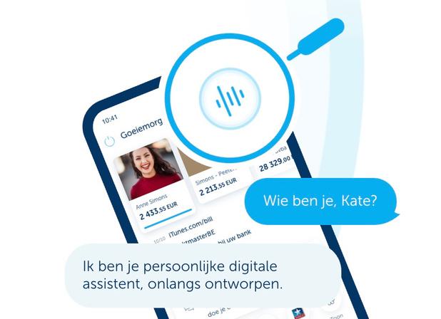 KBC rolt digitale assistent Kate uit