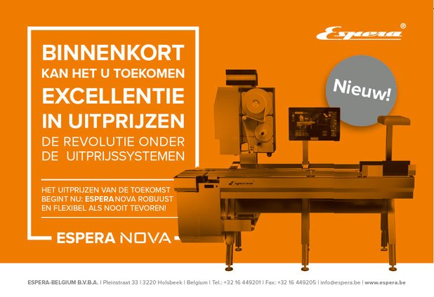 Ontdek ESPERA NOVA, de revolutie op gebied van weeg-etiketteren/uitprijzen