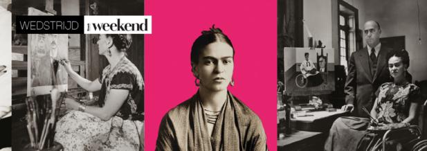 Win een gratis ticket voor Frida Kahlo - Her Photos