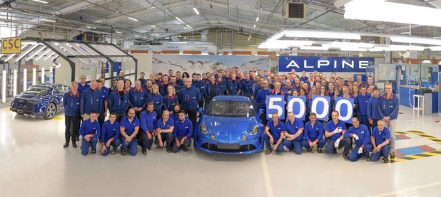 Déjà 5000 Alpines A110
