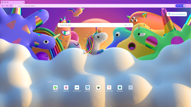 Microsoft voegt kindermodus toe aan Edge browser