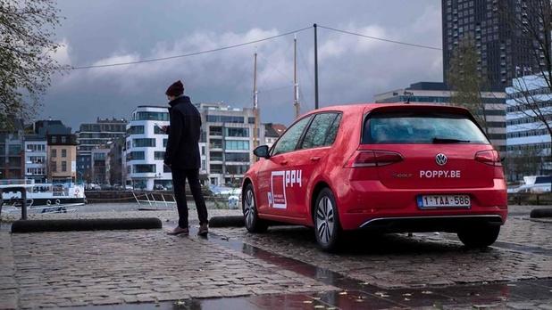Les voitures partagées Zipcar remplacées par celles de Poppy à Bruxelles